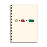 Cuisenaire Rods Notebook