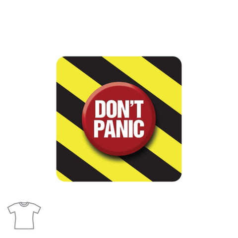 Panic Button T Shirt for Women