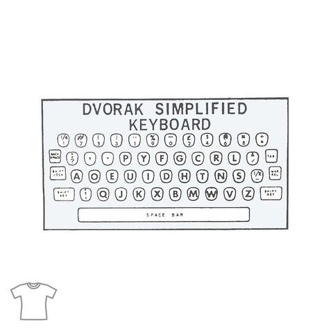 Dvorak T Shirt for Women