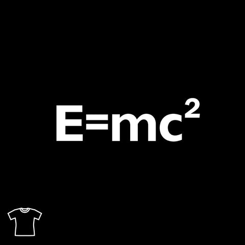E=mc2 T Shirt for Women