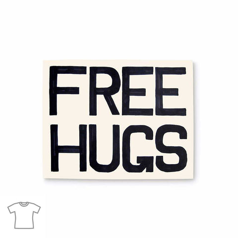 Free Hugs T Shirt for Women