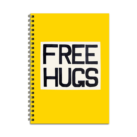 Free Hugs Notebook