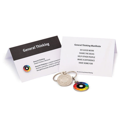 General Thinking Lapel Pin | Private Selection