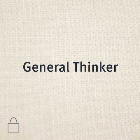 General Thinker Tote Bags | Private Selection