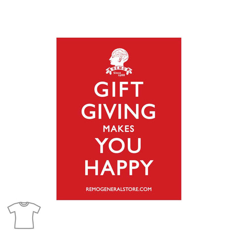 Gift Giving T Shirt for Women