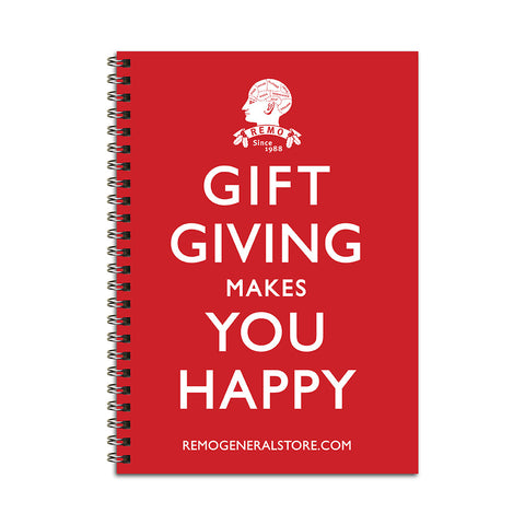 Gift Giving Notebook