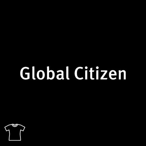 Global Citizen T Shirt for Women