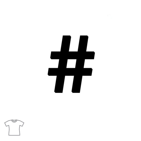 Hashtag T Shirt for Women