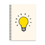 Light Bulb Notebook