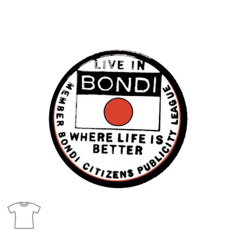 Live in Bondi T Shirt for Women