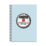Live in Bondi Notebook