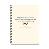 Lola's Daisy Chain Notebook