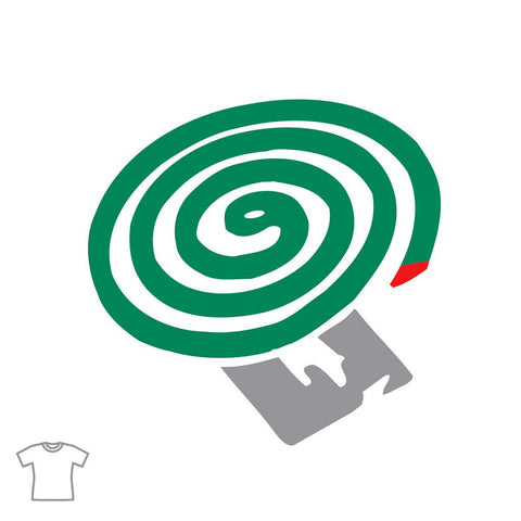 Mosquito Coil T Shirt for Women