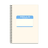 Name Badge Notebook