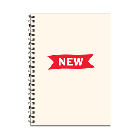 New Ribbon Notebook
