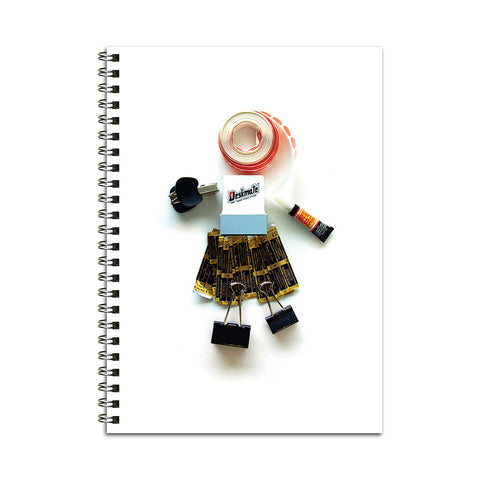 Office Idol Woman Notebook