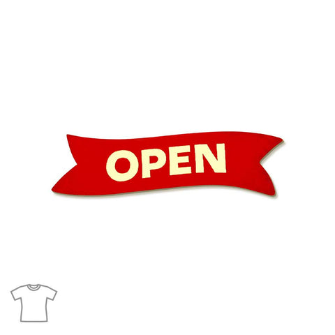 Open Sign T Shirt for Women