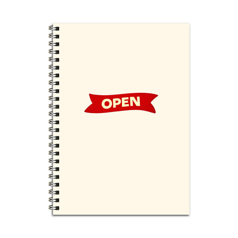 Open Sign Notebook