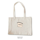 PEOPLE Segment Tote Bags