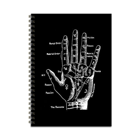 Palmistry Hand Notebook