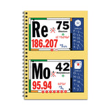 Periodic Re Mo Notebook