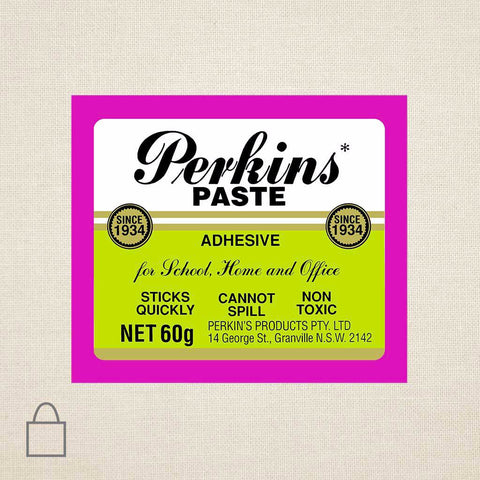 Perkins Paste Tote Bags