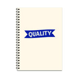 Quality Ribbon Notebook