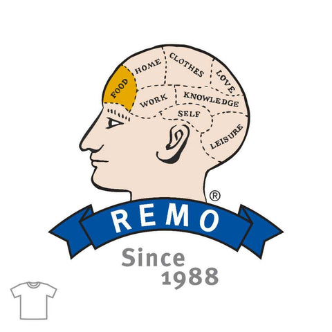 REMO Head Food T Shirts