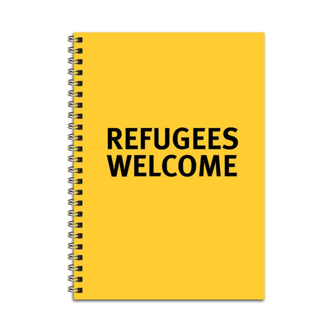 Refugees Welcome Notebook