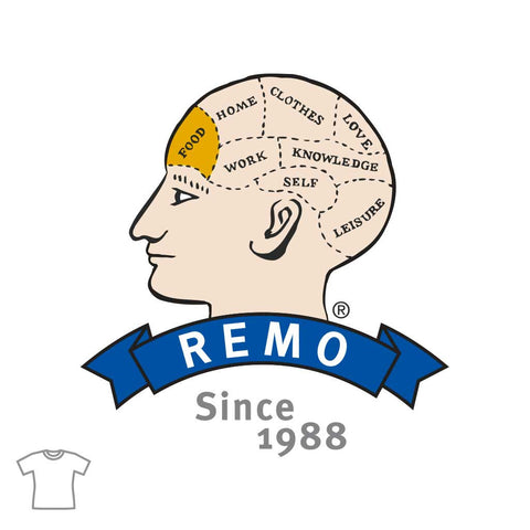 REMO Head Food T Shirt for Women