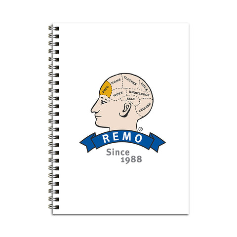 REMO Head Food Notebook