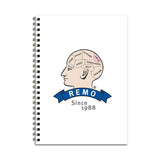 REMO Head Love Notebook