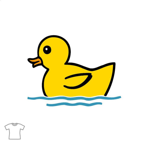 Rubber Duck T Shirt for Women