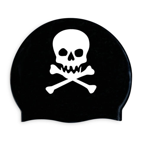 Skull & Cross Bones Swimming Cap