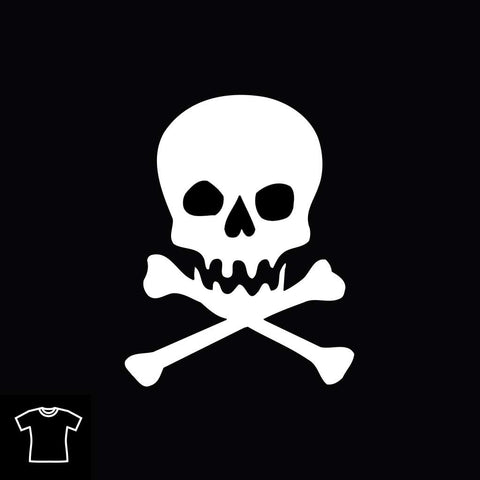 Skull & Cross Bones T Shirt for Women
