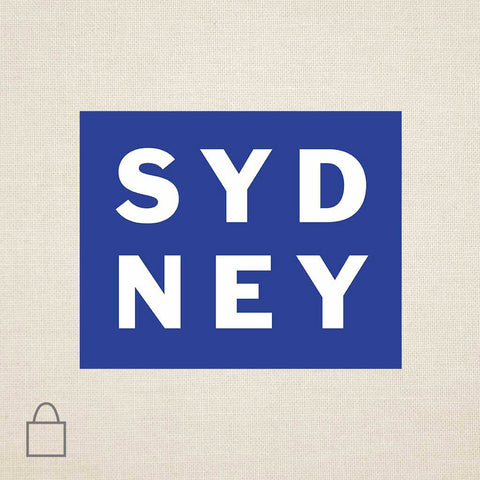 Syd Ney Tote Bags