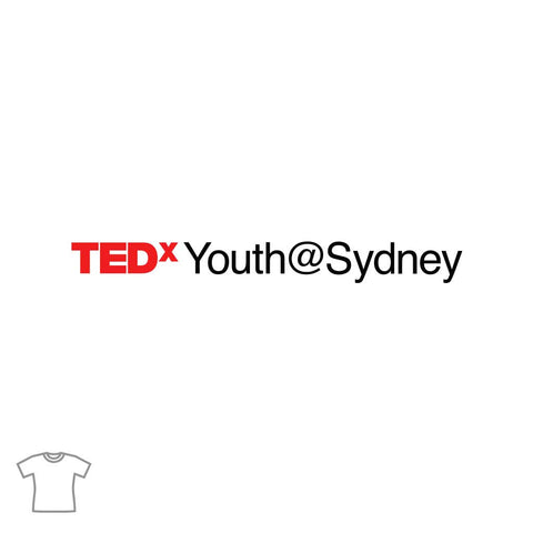 TEDxYouth@Sydney Logo T Shirt for Women