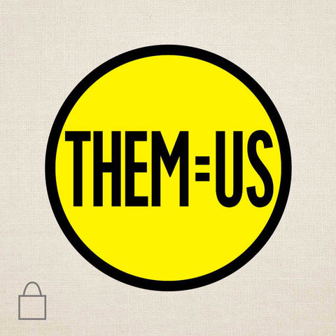 THEM=US Tote Bags