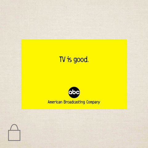 TV is Good Tote Bags