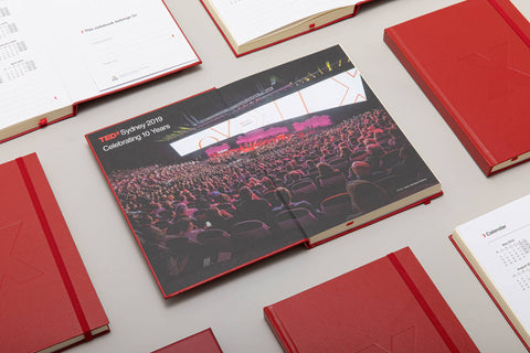TEDxSydney Hardcover Notebook