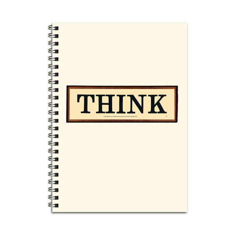 THINK Sign Notebook