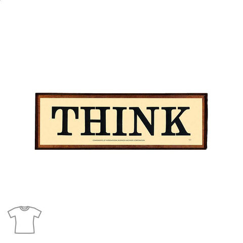 THINK Sign T Shirt for Women