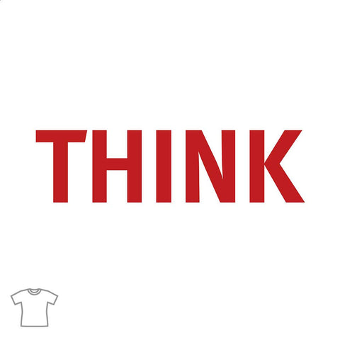 THINK Word T Shirt for Women