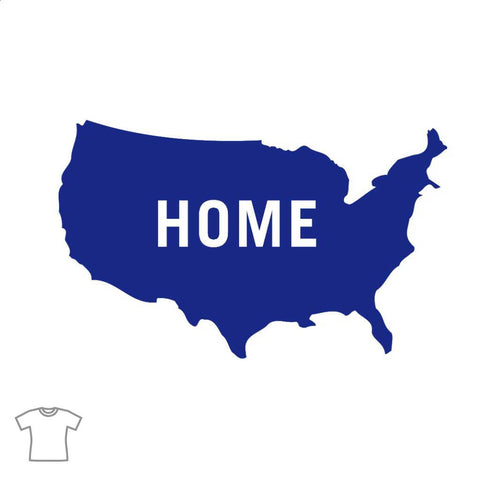 USA Home T Shirt for Women