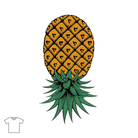 Upside Down Pineapple T Shirts