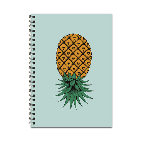 Upside Down Pineapple Notebook