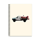 Ute Dog Notebook