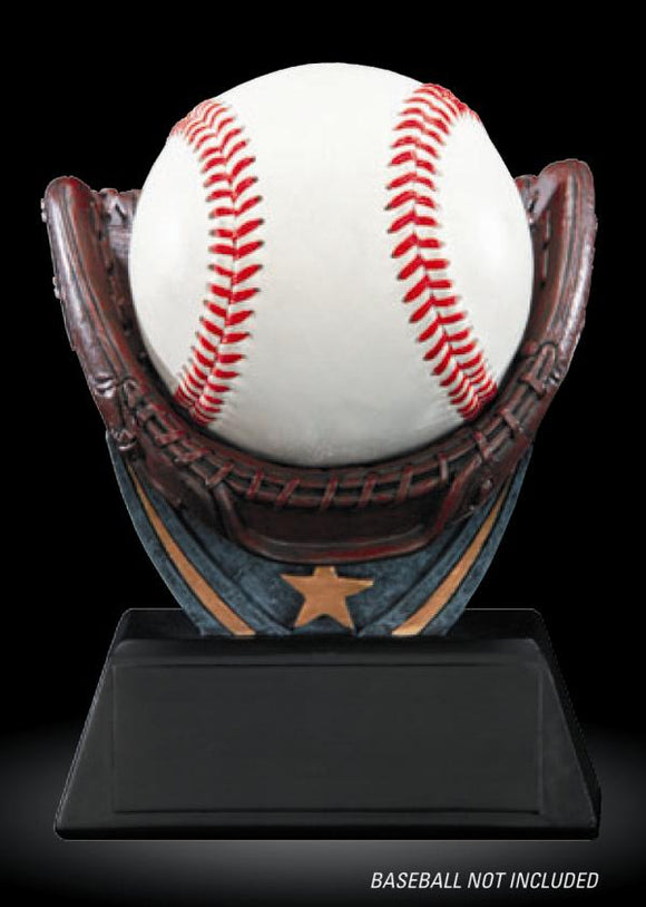 Resin Baseball Holder