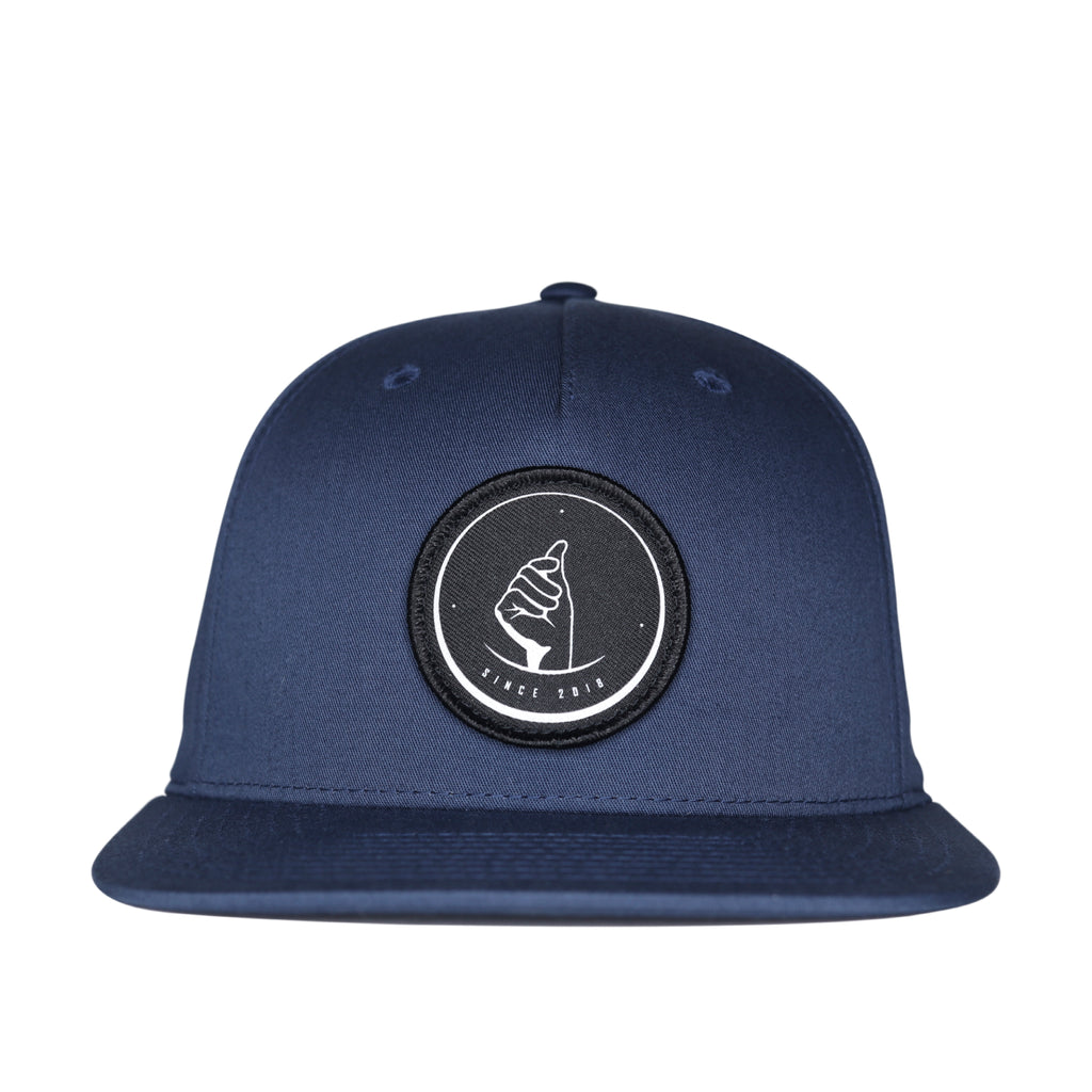 MoneyDude Navy Snapback Hat
