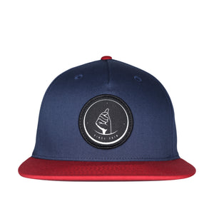 MoneyDude Navy/Red Snapback Hat
